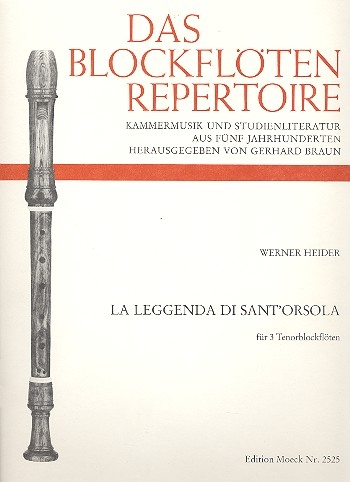 Heider, Werner - La Leggenda di Sant 'Orsola - TTT