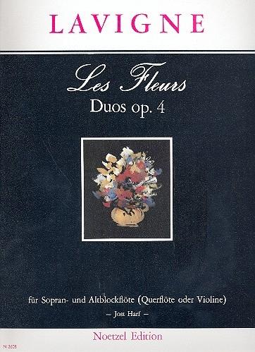 Delavigne, Philibert - Les Fleurs op. 4 - SA