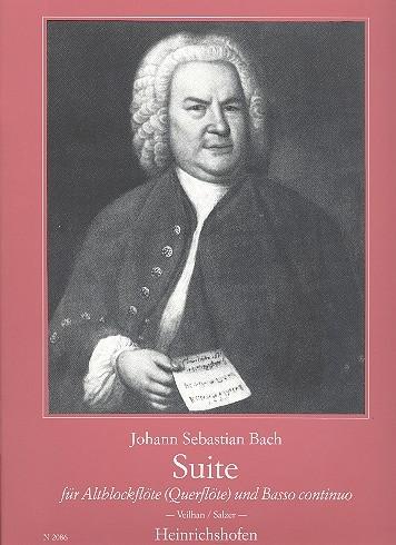 Bach, Johann Sebastian - Suite BWV 997 - Altblockflöte und Basso continuo