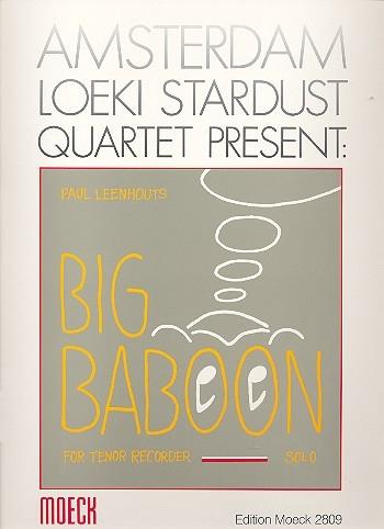 Leenhouts, Paul - Big Baboon - Tenorblockflöte solo