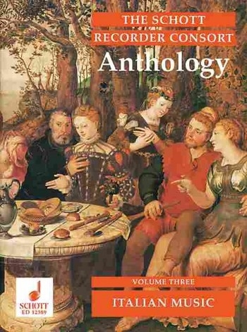 Recorder Consort Anthology 3 - Musik aus Italien  ST / AT / AAT / SAT / SATB / STTB