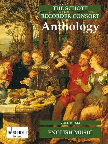 Recorder Consort Anthology 6 - Musik aus England  div. Duo bis Sextett
