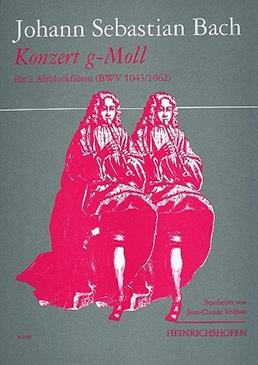 Bach, Johann Sebastian - Konzert g-moll BWV 1043 - 2 Altblockflöten