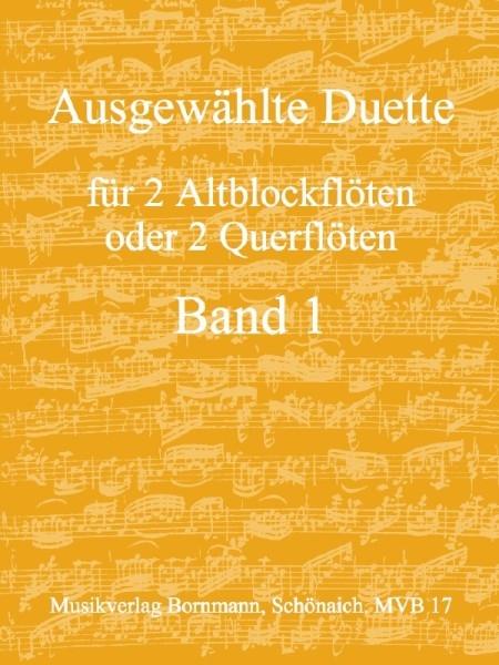 Bornmann, Johannes (Hrg.) - Ausgewählte Duette Band 1 - 2 Altblockflöten