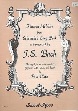 Bach, Johann Sebastian - Schemellis Song Book - SATB