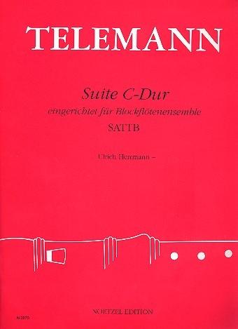 Telemann, Georg Philipp - Suite C-dur - SAATB
