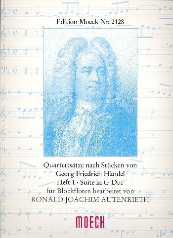 Händel, Georg Friedrich - Suite G-dur  - SATB