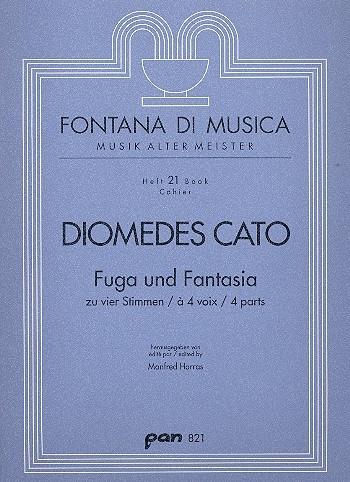 Cato, Diomedes - Fuga und Fantasia - SATB