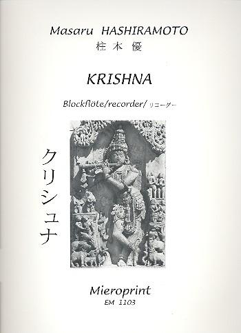 Hashiramoto, Masaru - Krishna - Sopranino-, Sopran- und Altblockflöte solo