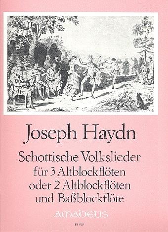 Haydn, Joseph - Schottische Volkslieder  - AAA / AAB
