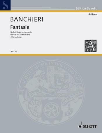 Banchieri, Adriano - Fantasie - SATB