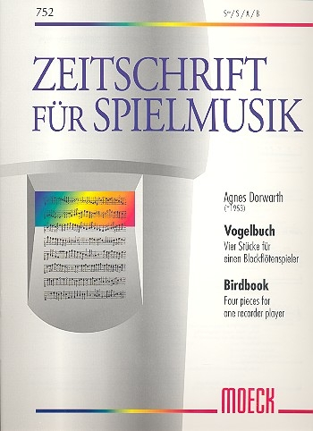 Dorwarth, Agnes - Vogelbuch - Blockflöte solo
