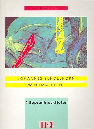 Schöllhorn, Johannes - Windmaschine - SSSS