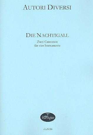 Merula, Tarquinio / Riccio, Giovanni B. - Die Nachtigall - 2 Canzonen - SATB