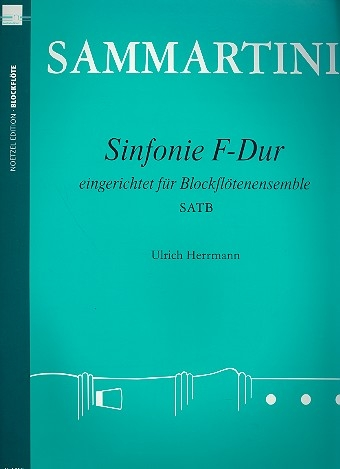Sammartini, Giuseppe - Sinfonie F-major  - SATB