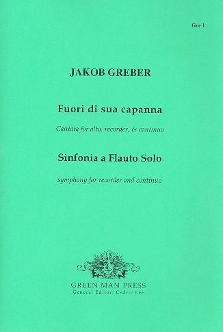 Greber, Jakob - Fuori di sua capanna - Alt, Altblockflöte und Bc