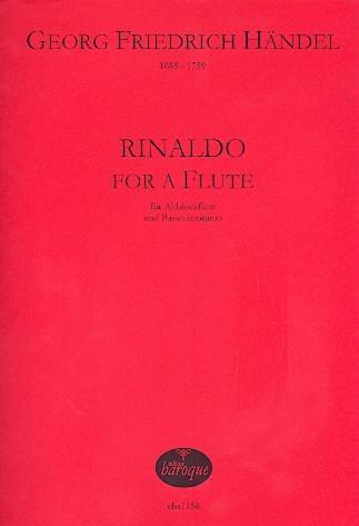 Händel, Georg Friedrich - Rinaldo for a Flute - Altblockflöte und Basso continuo