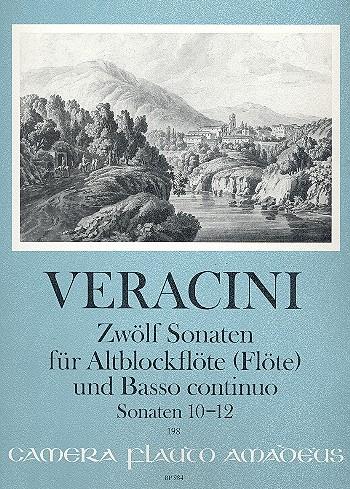 Veracini, Francesco - Zwölf Sonaten Band 4 - Altblockflöte und Basso continuo