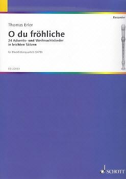 O du fröhliche - Blockflötenquartett SATB
