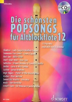 Bye, Uwe - Die schönsten Popsongs Band 12 - 2 Altblockflöten + CD<br><br><b>NEU!</b>