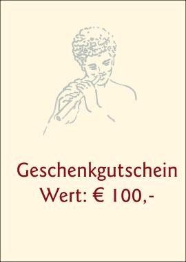 Gift Card € 100,-