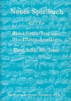 Bornmann, Johannes (Hrg.) - Neues Spielbuch Band 3 - AAT