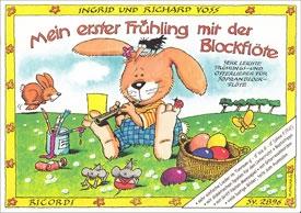 Voss, Richard - Mein erster Frühling mit der Blockflöte