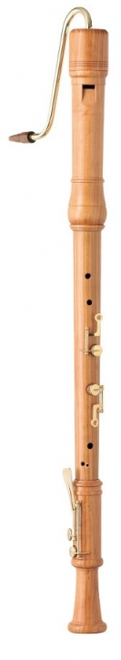 bass recorder Zen-On B-5C cherrywood