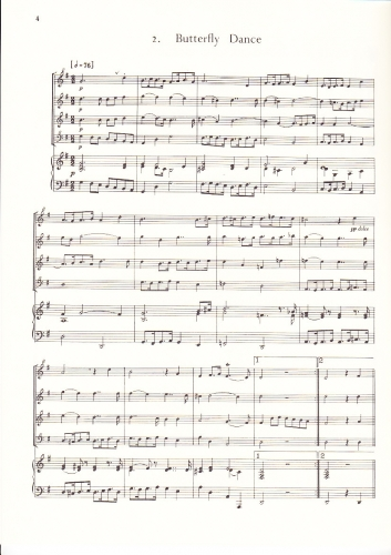 Purcell, Dioclesian, recorder quartet, sheet music, ED10894