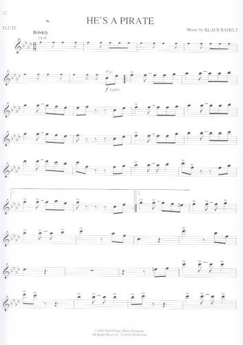 Fluch der karibik klavier