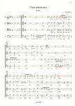 Attaingnant, Pièrre - 8 Chansons 1533 - SATB
