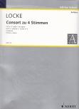 Locke, Matthew - Consort  zu vier Stimmen - Vol. 2 (Suiten 4-6) SATB
