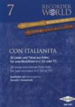 Authenried, Ronald J. - Con Italianita - 2 Sopran- oder Tenorblockflöten