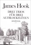 Hook, James - 3 Trios -   AAA