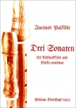 Paisible, James - Drei Sonaten - Altblockflöte und Basso continuo