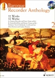 Baroque Recorder Anthology  2 - Sopranblockflöte und Klavier + CD/ Bowmann, Peter/Heyens, Gudrun