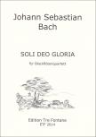 Bach, Johann Sebastian - Soli Deo Gloria - SATB oder AATB