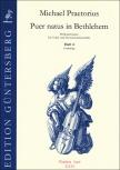 Praetorius, Michael - Puer natus in Bethlehem  4 - Blockflötenquartett  SATB - Partitur