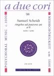 Scheidt, Samuel - Angelus ad pastores à 8  - 2 Blockflötenquartette SATB + SATB