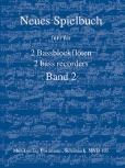 Bornmann, Johannes (Hrg.) - Neues Spielbuch - Band 2 - 2 Bassblockflöten