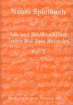 Bornmann, Johannes (Hrg.) - Neues Spielbuch Vol. 2- treble and bass recorder