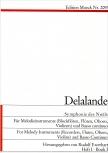 Delalande, Michel-Richard - Symphonie des Noël - Sopranblockflöte und Bc