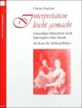 Roelcke, Christa - Interpretation leicht gemacht -