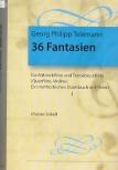 Telemann, Georg Philipp - 36 Fantasien -  Heft 1 AT