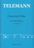Telemann, Georg Philipp - Concerto F-dur - AAAA