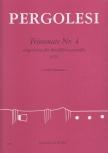 Pergolesi, Giovanni Battista - Triosonate Nr. 4 - ATB