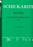 Schickardt, Johann Christian - Trio F-dur - SAT