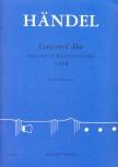 Händel, Georg Friedrich - Concerto C-dur - ATTB