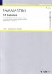 Sammartini, Giuseppe - Zwölf Sonaten Band 1 - 2 Altblockflöten und Bc.