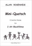 Rosenheck, Allan - Mini-Quatsch - 2 Alto Recorders